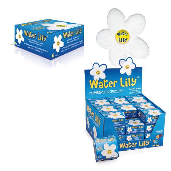 waterlily voor vetabsorptie